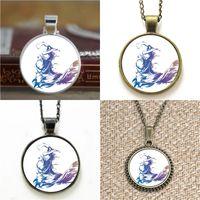 Wholesale Final Fantasy Bracelets - 10pcs Final Fantasy X FF10 logo pendant Necklace keyring bookmark cufflink earring bracelet