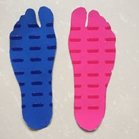 Wholesale footwear soccer shoes online - Nakefit Footwear Heat Insulation Anti Skid Insole Beach Invisible Shoes Sporting Goods Foot Socks Repeatedly Used Harmless yw F