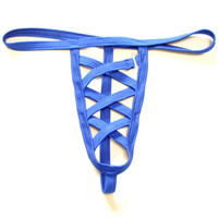Wholesale open penis sexy underwear men - Gay Mens Sexy Gay G-string Thongs Open Crotch Man Penis Convex Pouch Jockstrap Exotic Lingerie Underwear Panties Briefs T-back
