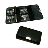 Wholesale torx screwdrivers set resale online - Combination Purse Screwdrivers Mobile Phone Notebook Glasses Repair Disassemble Tool Suit Versatile Convenient To Use Bolt Driver ly J R