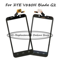 Wholesale Order Touch Screen Panel - Wholesale- Replace Original use Touch Panel For ZTE V880H Blade G2 touch screen display+Free Shipping+Order Tracking