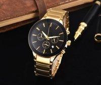 Wholesale High End Fashion Jewelry - 2017 AAA new Steel belt watch crime high-end luxury fashion brand quartz clock watch steel belt leisure fashion watches9