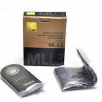 Wholesale Ir Remote Control Switch - ML-L3 IR Camera remote Control switch Remote Control for Nikon D7000 D5100 D5000 D3000 D90 P6000 P7000 D60 d700 d850 d3300 d3200