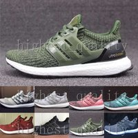 Wholesale Women Cheap Fur Real - Cheap New Ultra boost 3.0 Real Boost Top Version Running Shoes for Men Women UltraBoost 2.0 4.0 3 III Core Athletic sneakers Shoes US 5-11