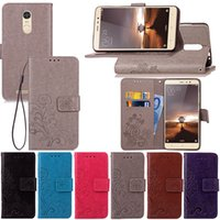Wholesale Premium Leather Cases - Premium PU Leather Flip Fold Wallet Case with [ID&Credit Card Slot] for Xiaomi Redmi Note 2 3 4 4A 4X