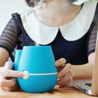 Hot Sale Beautiful Flower Vase Shape USB Ultrasonic Air Humidifier Mini huile essentielle Aroma Diffuser Home Office Mist Maker Fogger
