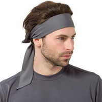 Wholesale Women Pirate Scarf - Europe and the United States outdoor solid color men and women movement only sweat scarf running tennis fitness pirate headband trend Sport