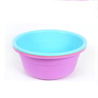 Wholesale Vessel Bowls - Round Thickened Basin Laundry and Wash face Home Wash Basin Plastic Pots Children Bathroom Wash Basin Can be printed LOGO