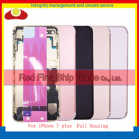 """Wholesale Iphone Middle Bezel Frame - High Quality 5.5"""" For iPhone 7 Plus Middle Frame Bezel Chassis Back Full Housing Battery Door Rear Cover Body With Flex Cable"""