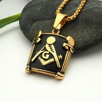 Wholesale Item Number - fashion vision stainless steel flagon pendant necklace hip hop necklaces with chain jewelry for men or women item number hps021