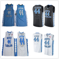 Wholesale Cheap Size Heels - 2017 North Carolina Tar Heels #44 Justin Jackson Jersey Blue White Black Cheap College Justin Jackson Basketball Jerseys Mens Size S-XXXL
