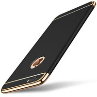 Wholesale Metal Case For Xiaomi - For iPhone X 360 Protection Phones Cases Cover For iPhone 8 6s 7 7s Plus PU+Metal Luxury Back Phone Fundas Capa For Xiaomi Redmi Note 4