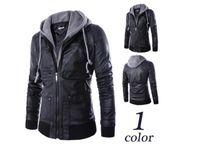 Wholesale Cool Wool Men Coat Winter - Man s coats fashion man s Fur coat 2017 winter new warm cool motorcycle coat even the cap outerwear