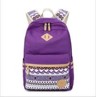 Wholesale Pink Laptops For Girls - Fashion School Backpack Women Children Schoolbag Back Pack Leisure Korean Ladies Knapsack Laptop Travel Bags for Teenage Girls
