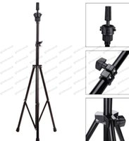 Wholesale Training Head Tripod Stand - 2017 NEW Hot sale Wig Stands Adjustable Tripod Stand Holder Hairdressing Training Head Mold Mannequin Holder Salon Hair Clamp GLO