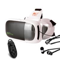 telefone 3d google venda por atacado-Atacado- RITech III Além disso VR 360 visualização envolvente Realidade Virtual 3D Glasses FOV 75 graus Google Cardboard para 4.7- 6 polegadas Telefone