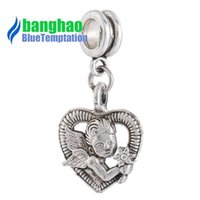 Wholesale Time Lockets - Wholesale- 2016 Metal Trendy Time-limited Real Floating Charms Locket Charm Diy Pendant European Bead Bracelet Accessories Large Hole Pd11