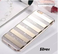 Wholesale Wholesale Phone Bling Accessories - Mirror Plating Bling Cellphone phone case Hybrid Soft TPU PC Glitter Accessories Full Cover Clear Cell mobile case For iphone 7 iphone 6plus