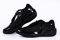 Wholesale Black Shoes For Ladies - New Arrival Women Casual Comfort Shoes Athletic Shoes Girls Patent Leather with Mesh Breathable Shoes For Lady Black Color 36-41