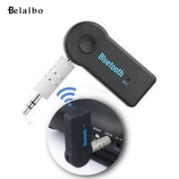 Wholesale Receiver Transceiver - Wholesale-3.5 Car Wireless Bluetooth Audio Receiver Bluetooth Music Receiver adapter car stereo AUX Bluetooth transceiver