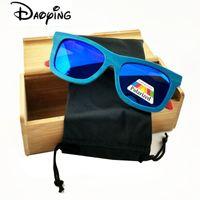 Wholesale Skateboard Wood Sunglasses - Wholesale- 2017 New skateboard wood Sunglasses summer Eyewear Eyeglasses with polarized lens free shipping LUB141