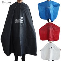 Polyester black hair coloring - Popular Salon Barber Cape In XL Size Professional Black Mens Head Hair Cutting Cape Gown For Hair Perming Coloring