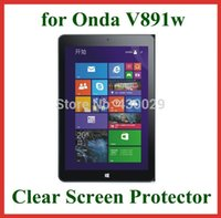 Wholesale Screen Protector Onda Tablet Pc - Wholesale- 10pcs Clear Screen Protector Protective Film for Onda V891w Tablet PC 8.9 inch Size 226x143.3mm No Retail Package