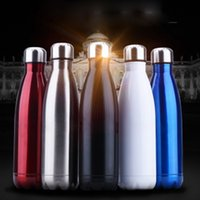 Wholesale Baby Flask - Stainless Steel Vacuum Flask Baby Feeding Bottles Sports Water Bottles Bowling Cups Cola Bottles 304# 350ml 500ml 750ml