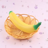 Wholesale Areedy Authentic Banana Squishy Super Slow Rising Simulation Fruit Bread Kid Toy E00691