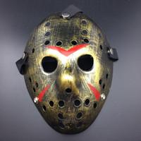 nuevos disfraces divertidos de halloween al por mayor-DHL! Máscara de Halloween caliente Nuevo Jason Cosplay máscaras Fiesta de disfraces Máscara divertida de Halloween Máscara asesina de Halloween