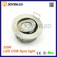 Wholesale Thin 1w Led - Wholesale- 2 year warranty miniature indoor ceiling spot recessed COB thin stair cabinet light 1W 3W mini LED light downlight Dimmable
