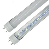lámparas fluorescentes led t8 al por mayor-Tubo LED T8 0.6m 2ft 12W 1100LM SMD 2835 Lámparas de luz 2 pies 600mm 85-265V iluminación led fluorescente