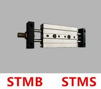 Wholesale STMB slide cylinder STMB16 mm bore mm STMS16 stoke double pole two axis double guide cylinder pneumatic components