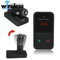 USB-Ladegerät für Telefon Wireless Bluetooth FM Transmitter Modulator Freisprechanlage MP3 Audio Player SD LCD Display