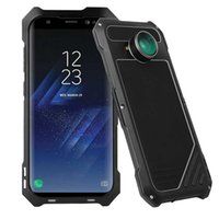Wholesale Galaxy Lens Kit - For Samsung Galaxy S8 S8plus Camera Lens Kit Case with IP54 Dustproof Shockproof