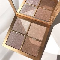 Wholesale Natural Collection Foundation - Factory Direct Free Shipping Kylie Cosmetics vacation edition Makeup Bronzers & Highlighters Powder Foundation Palette 4 color Collection