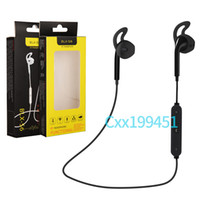 Wholesale Wireless Microphones Ears - Fashion S6 Wireless Bluetooth Headphone Stereo Cellphone In-ear Headset with Microphone Outdoor Sport Running for Iphone 7 7plue Samsung s8