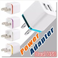 Christmas Metal Dual USB wall Cargador de enchufe EU EU 2.1A Adaptador de corriente alterna Cargador de pared 2 puerto para Iphone X 8 7 plus Samsung LG Tablet Ipad