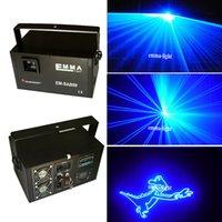Wholesale Green Dpss Laser - 2000MW blue DMX Laser Lights , Clubs   KTV   Pub DPSS Laser Lighting