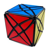 Wholesale Twist Boards - Brand New LanLan MoXing 8 Axis Hexahedron Magic Cube Flower Rex Speed Twist Puzzle cube magique Free For Kids -50
