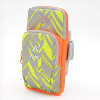 Wholesale Galaxy Cycling - High Quality 5Colors Sports Arm Band Case GYM Pouch Sport Armband Night Running Cycling Bag for Iphone 6 Plus Samsung Galaxy S6 Edge