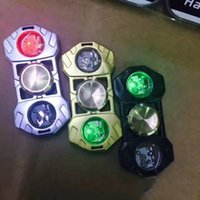 Wholesale Fashion Followers - Fashion Latest Led Finger Gyro EDC Triangular Followers Fidget Hand Spinner Decompression Decompression Toys EDC Fidget Spinner