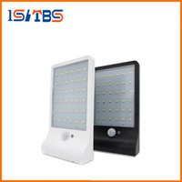 Outdoor Street Waterproof Wall Lights 450LM 36 LED Solar Power Street Light PIR Sensor de Movimento Light Garden Security Lamp