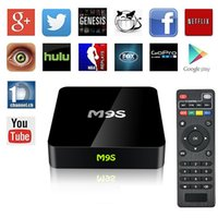 Wholesale Ultimate Models - M9S TV Box S905X Android 6.0 Up to 2.0GHz 1G 8G Private model Smart 4K Ultimate HD Lollipop IPTV Media Player