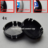 Wholesale Volvo Hub Cap - 4pcs 64mm ABS car wheel center hub caps car emblem caps for VOLVO XC90 XC70 XC60 V40 V50 V60 V70 V90 S40 v50 auto badge car styling