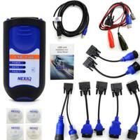 Wholesale Heavy Duty Scanners - NEXIQ Bluetooth Heavy Duty Truck Scanner Nexiq 125032 USB Link With All Adapters Nexiq USB Link Better Than DPA5 DHL Free