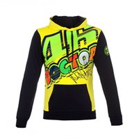Wholesale Hoodies Cars - 2017 new motorcycle Racing Wear car M1 MotoGp VR46 Rossi THEDOCTOR 100% cotton fashion casual hoodie Racing sweater jacket