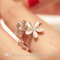 цветок горный хрусталь кольцо регулируемое оптовых-