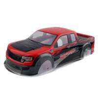 Wholesale Rc Hpi Body - RC AUSTAR AX032 Red Plastic Body Shell For HPI 1 10th Monster Truck & HSP 94188