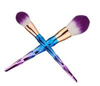 pinceles de maquillaje vander al por mayor-Nuevo kit de cepillo profesional Vander 7pcs profesional de la crema Power Makeup Brushes cosmética de belleza cosmética Puff Batch Kabuki Blusher top